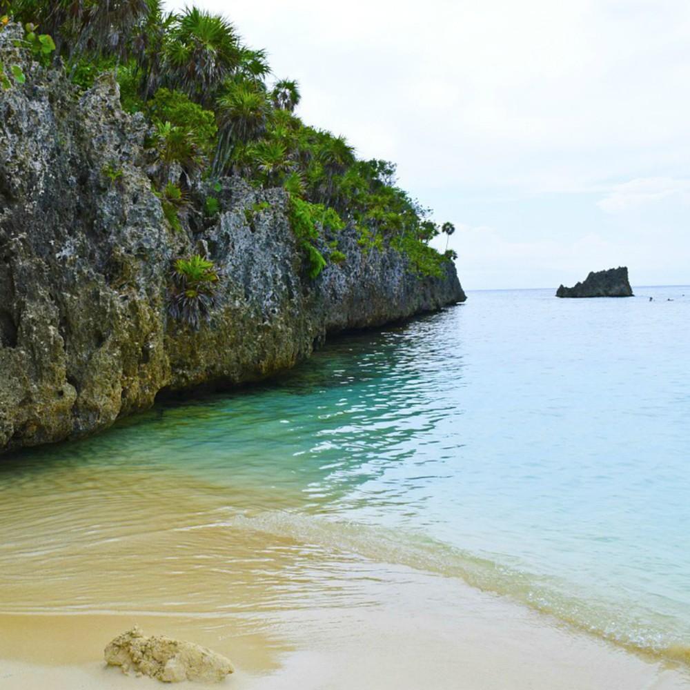 Strand van Honduras