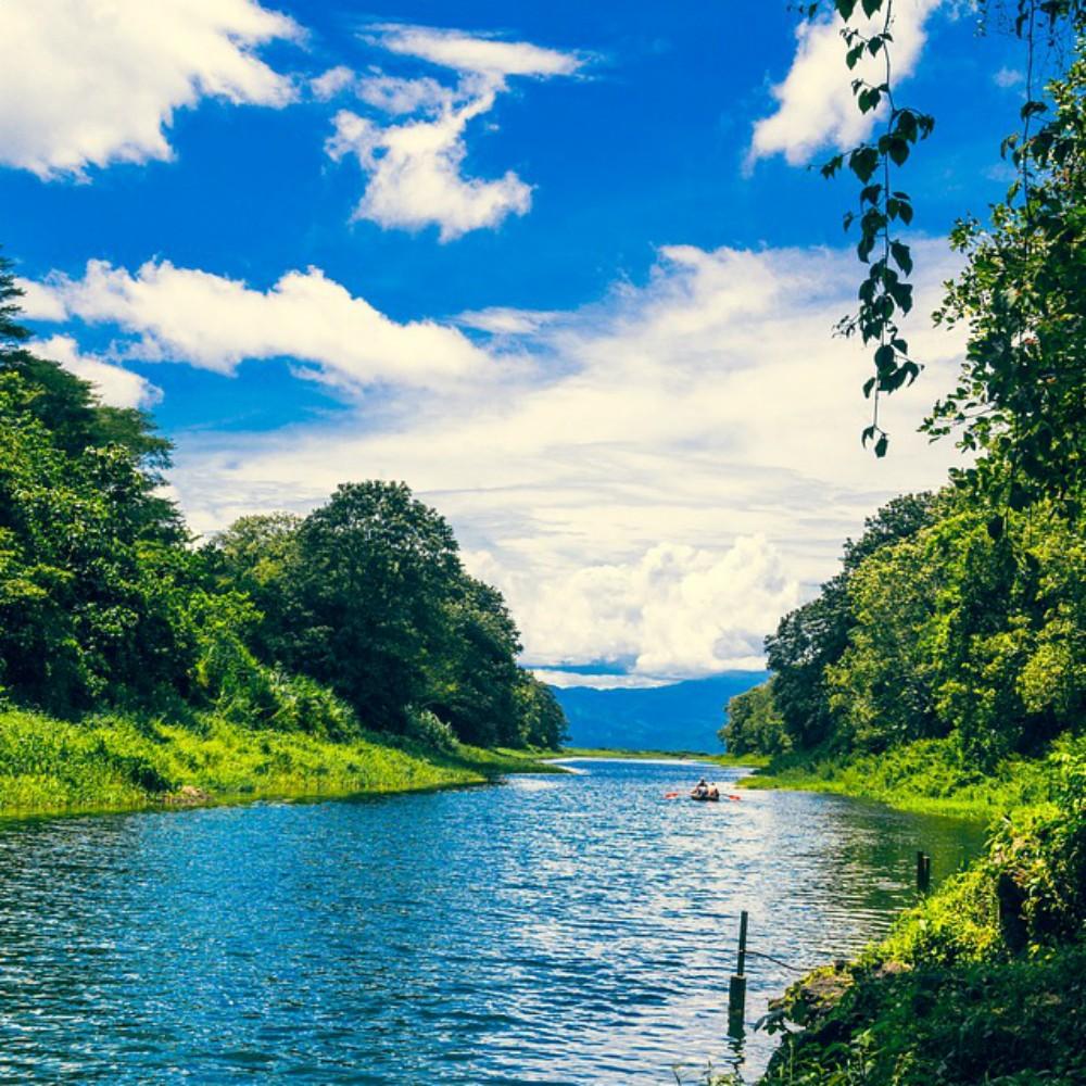 Rivier in Honduras